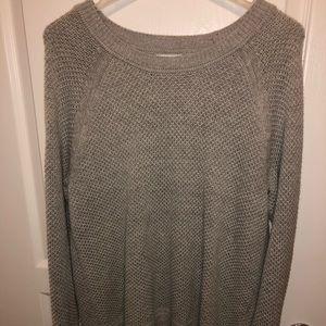 Super cute grey sweater